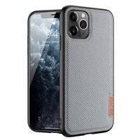 Dux Ducis Fino etui pokrowiec pokryty nylonowym materiałem iPhone 11 Pro Max niebieski