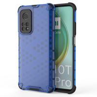 Honeycomb etui pancerny pokrowiec z żelową ramką Xiaomi Mi 10T Pro / Xiaomi Mi 10T niebieski