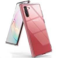 Ringke Fusion etui pokrowiec z żelową ramką Samsung Galaxy Note 10 przezroczysty (FSSG0067)
